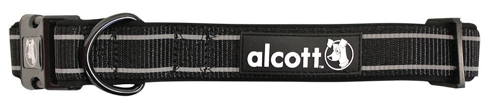 Abenteuerhalsband, schwarz, XS - XL