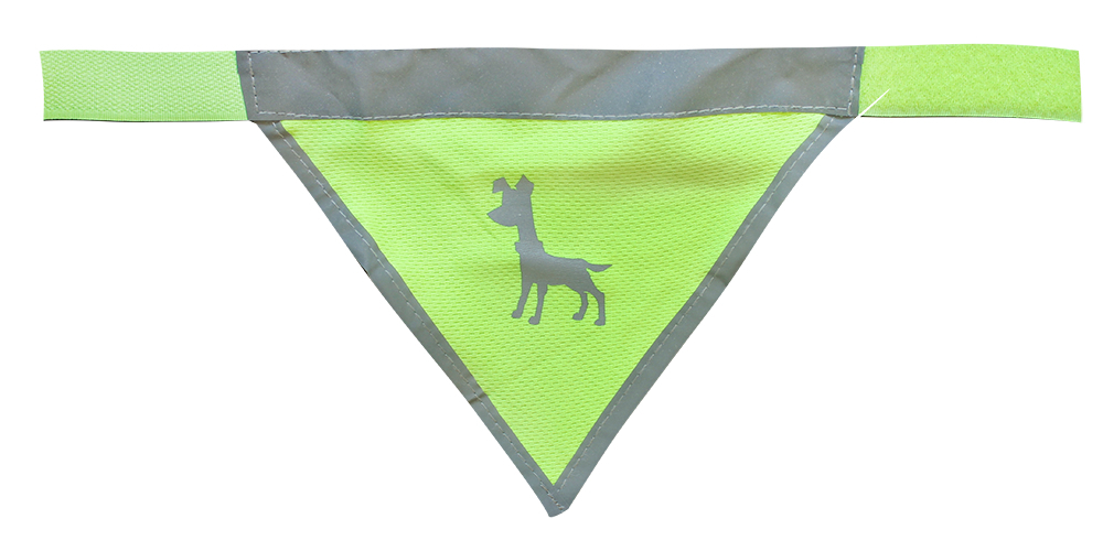 Essentials Neon Bandana, small, 25-35 cm