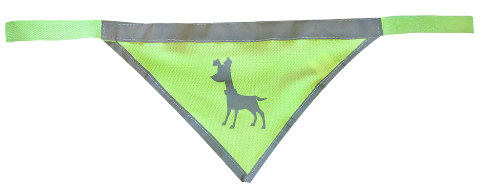 Essentials Neon Bandana, medium, 35-50 cm