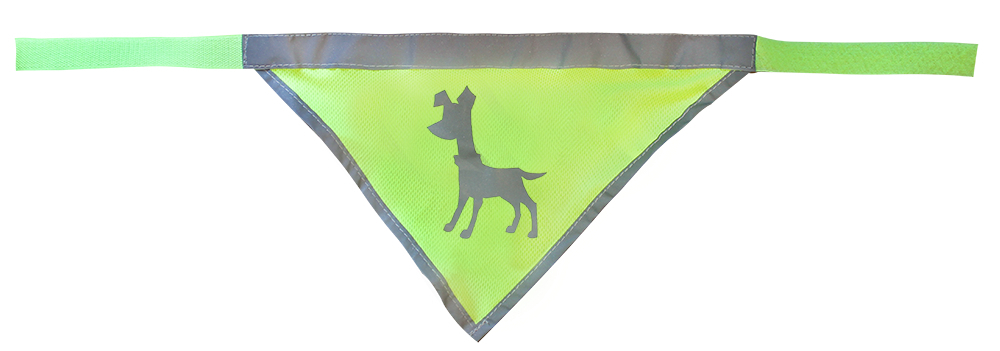 Essentials Neon Bandana, large, 45-65 cm