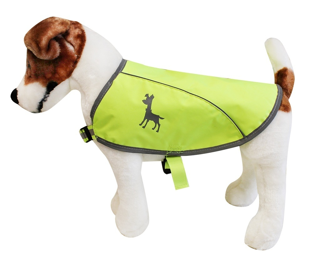 Essentials Neon Hundeweste, small, 27 cm