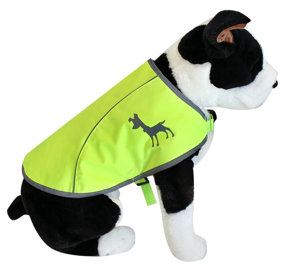 Essentials Neon Hundeweste, medium, 36 cm