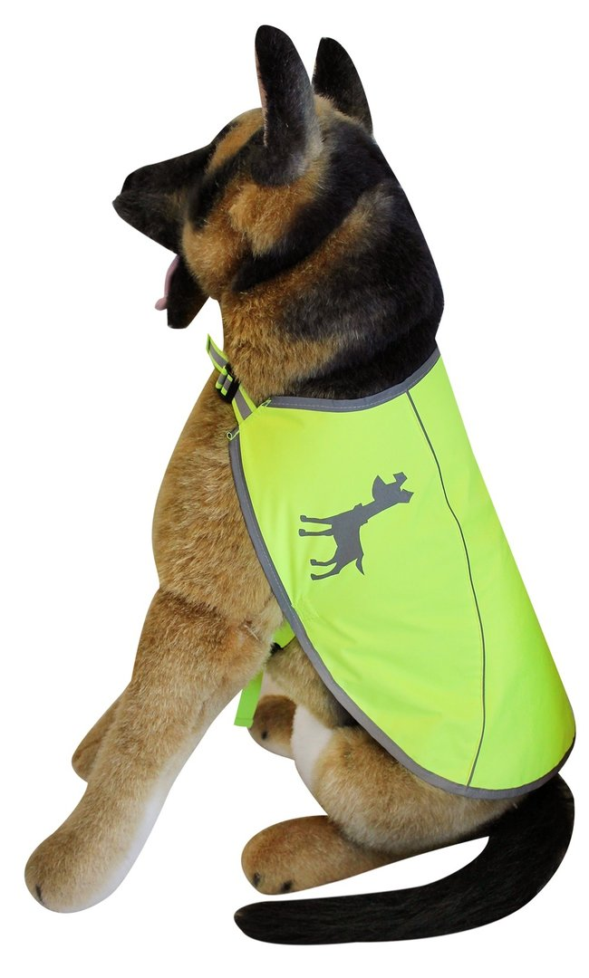 Essentials Neon Hundeweste, large, 46 cm