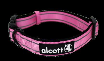 Abenteuerhalsband, pink, XS - XL
