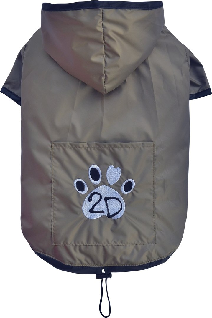 raincoat 2 legs brown