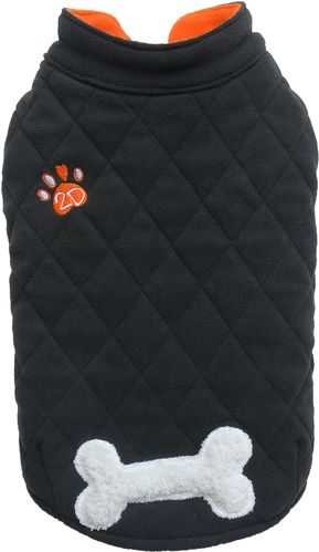 Fleece with bone black