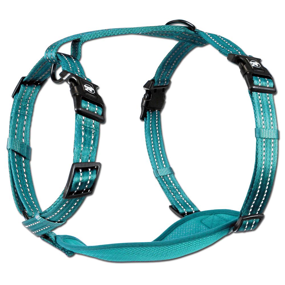 Essentials Neon Abenteuergeschirr, blau, XS-L