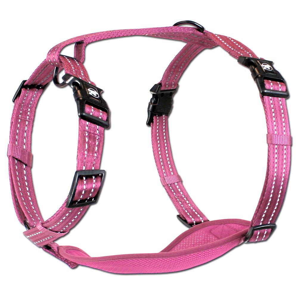 Essentials Neon Abenteuergeschirr, pink, XS-L