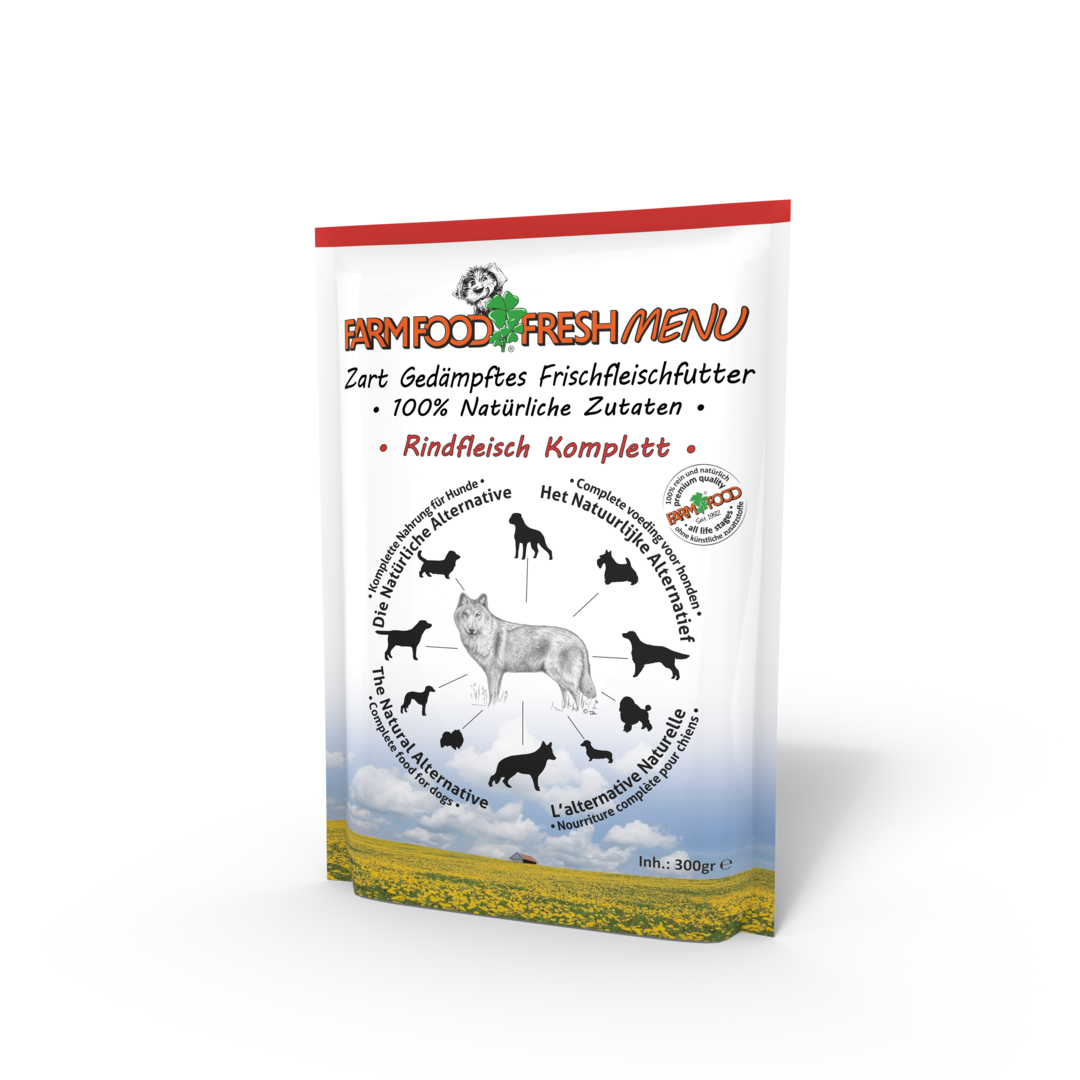 Farm Food Fresh Menu, Rindfleisch Complete, 300 g