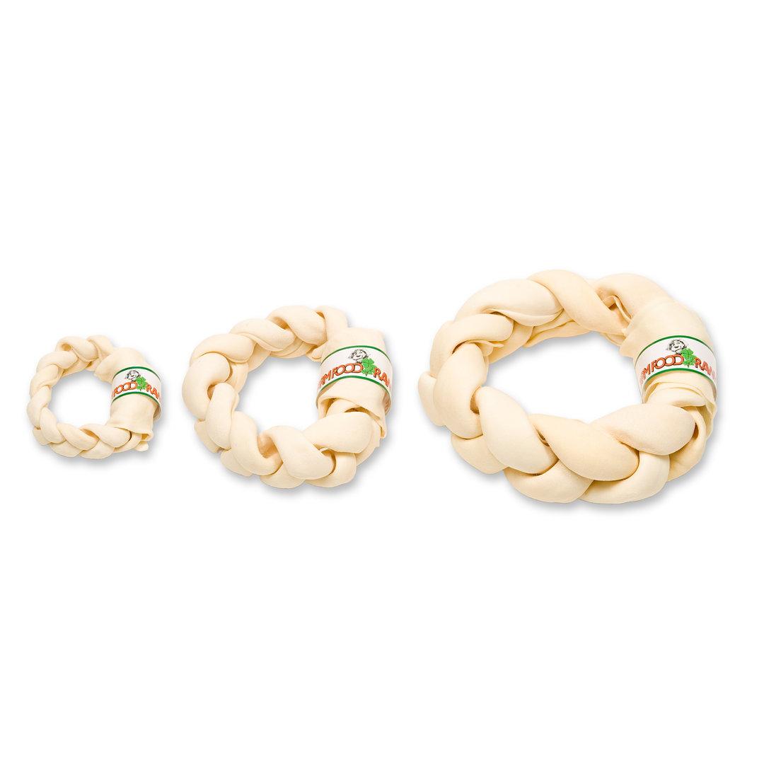 Zahnpflege Braided Donut S, ca. 13 - 15 cm