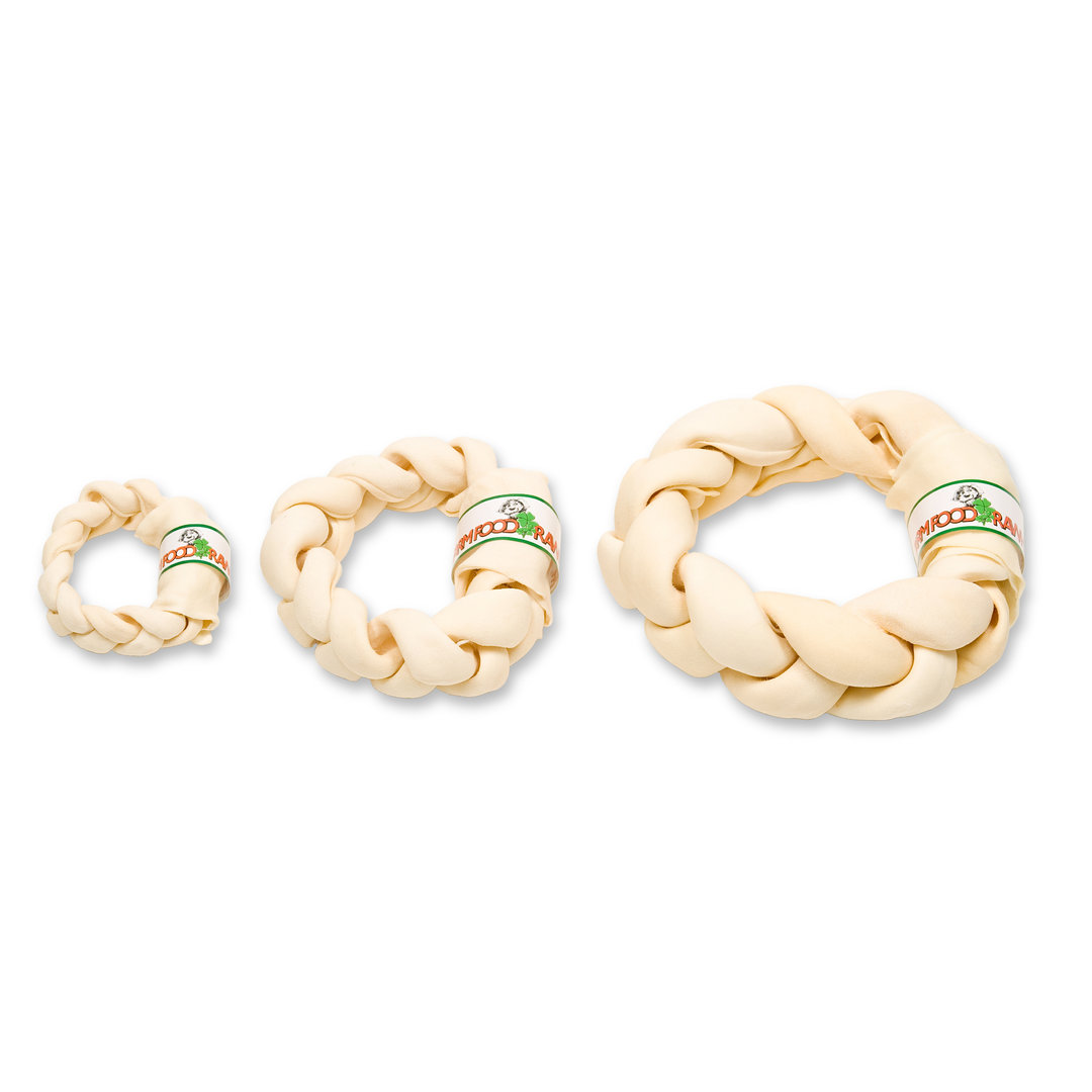 Zahnpflege Braided Donut L, ca. 22 - 26 cm