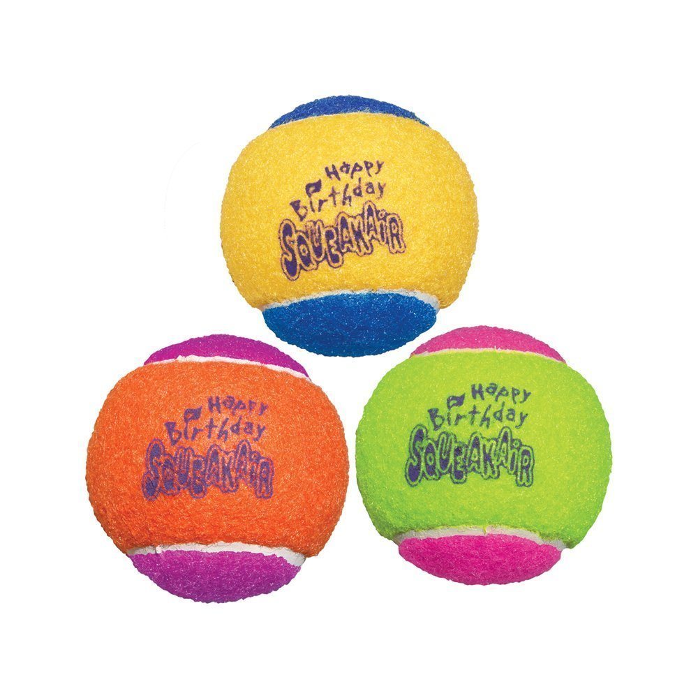 SqueakAir Birthday Ball M, 3er Set