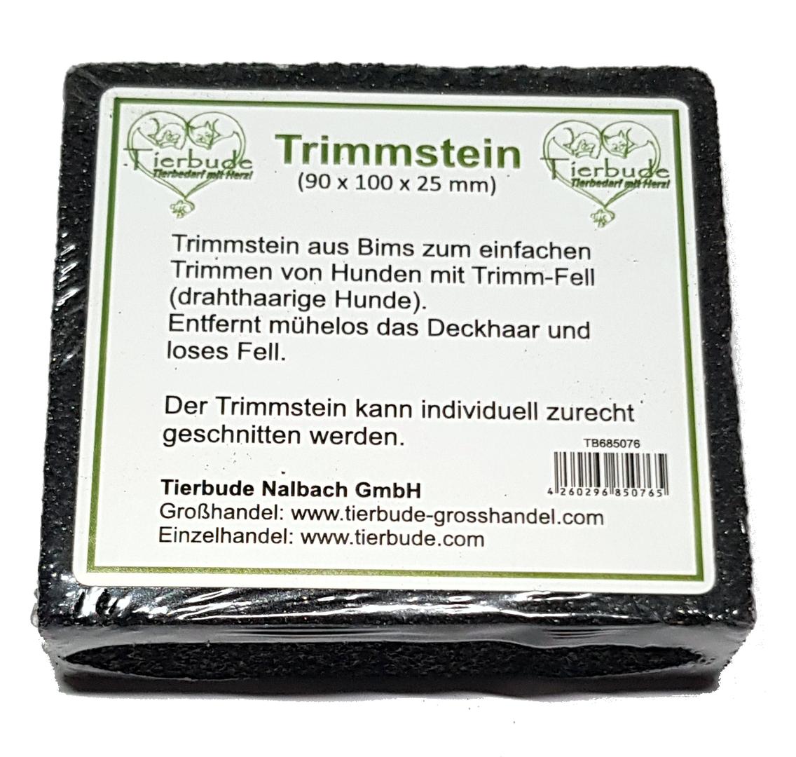 Tierbude Trimmstein, 90 x 100 x 25 mm