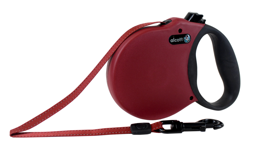 Expeditions Rollleine, rot, 7,5 m, 30 kg
