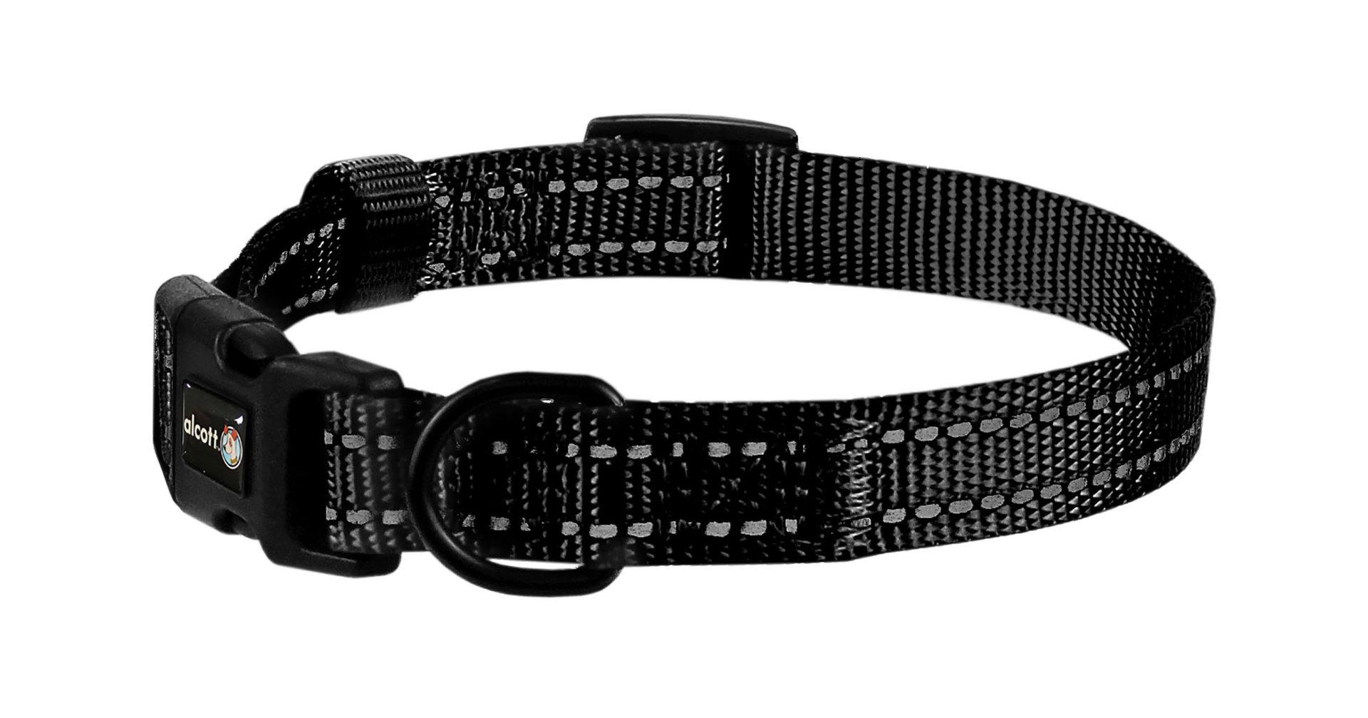 Wanderer Halsband, schwarz, S - L