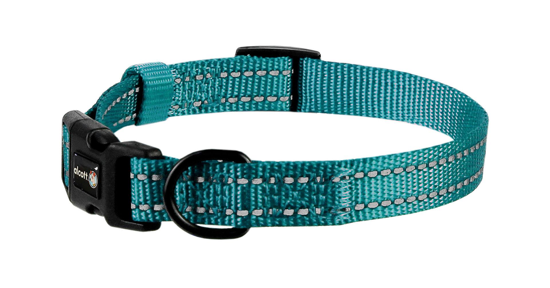 Wanderer Halsband, blau, S - L