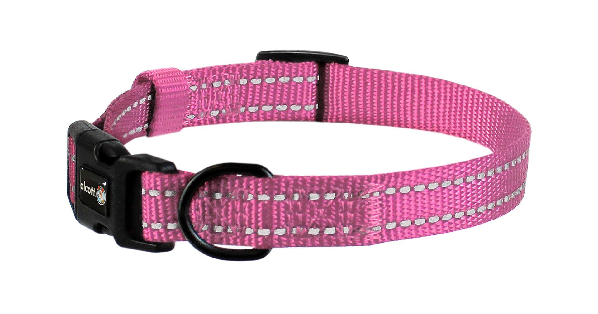 Wanderer Halsband, pink, S - L
