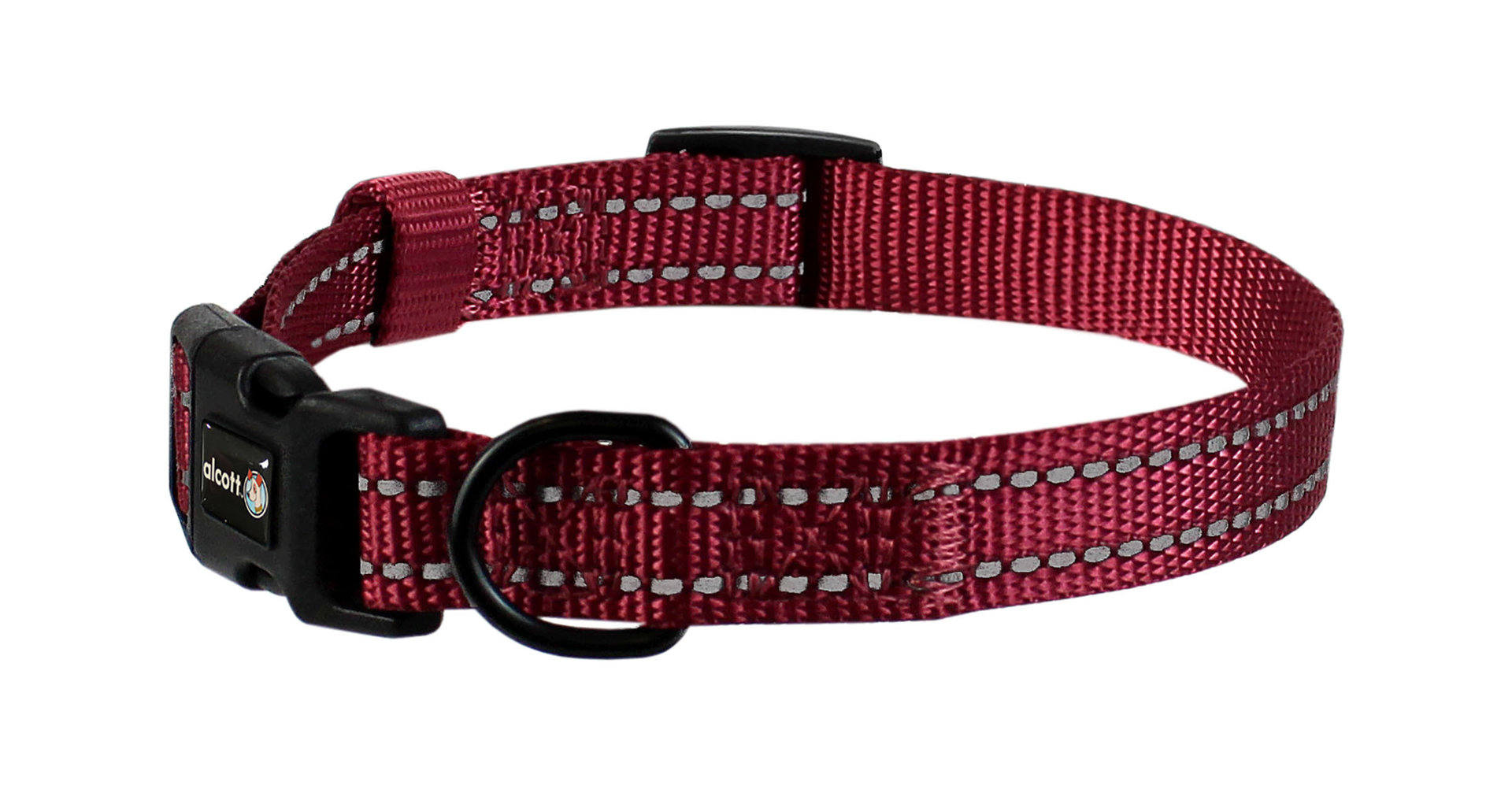 Wanderer Halsband, rot, S - L