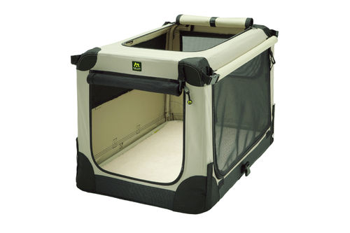 Soft Kennel faltbare Hundebox Tan