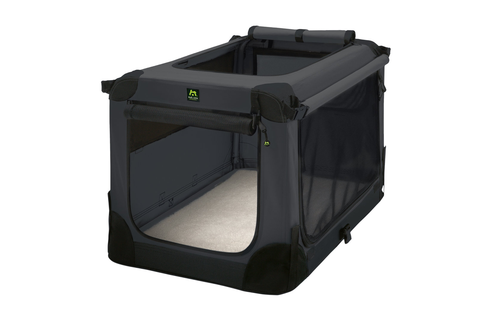 Soft Kennel faltbare Hundebox Anthracite