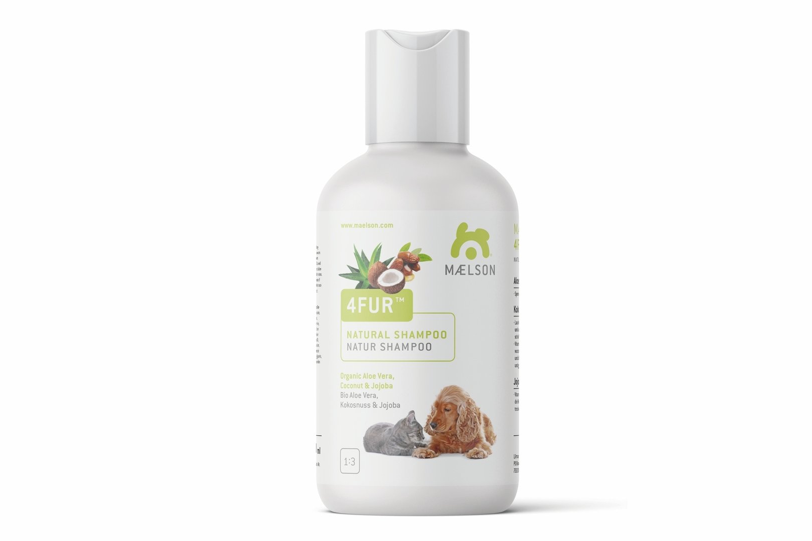 4Fur™ Kokosnuss & Jojoba, 250 ml, 5 Ltr.