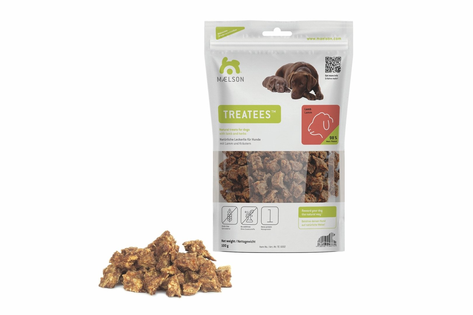 Treatees™ 100 Lamm, 100g