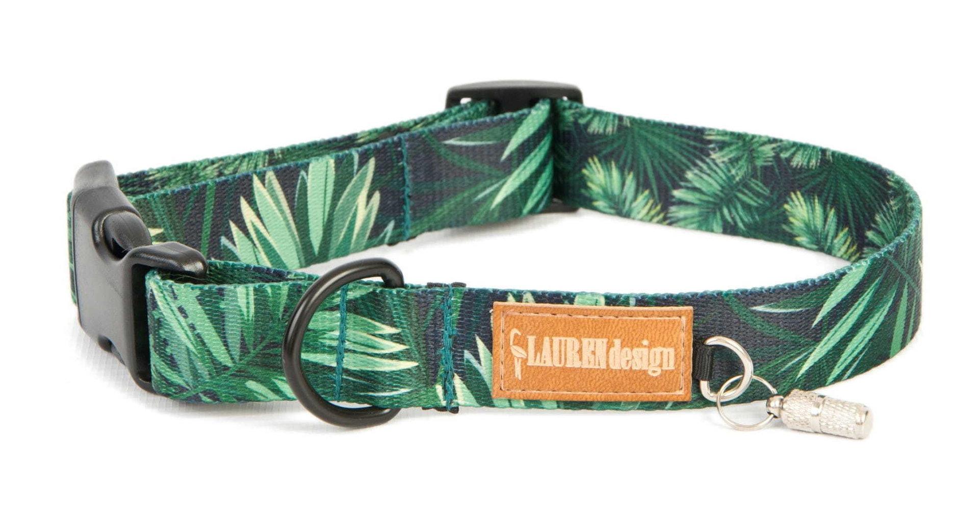 Halsband, grün, S - XL