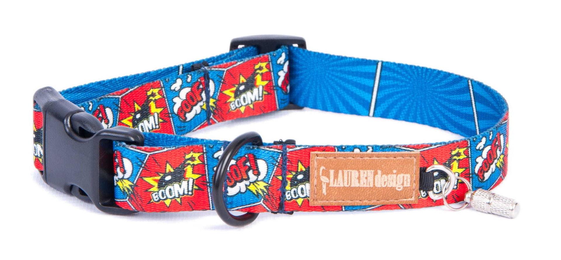 Halsband, Foof/boom, S - XL