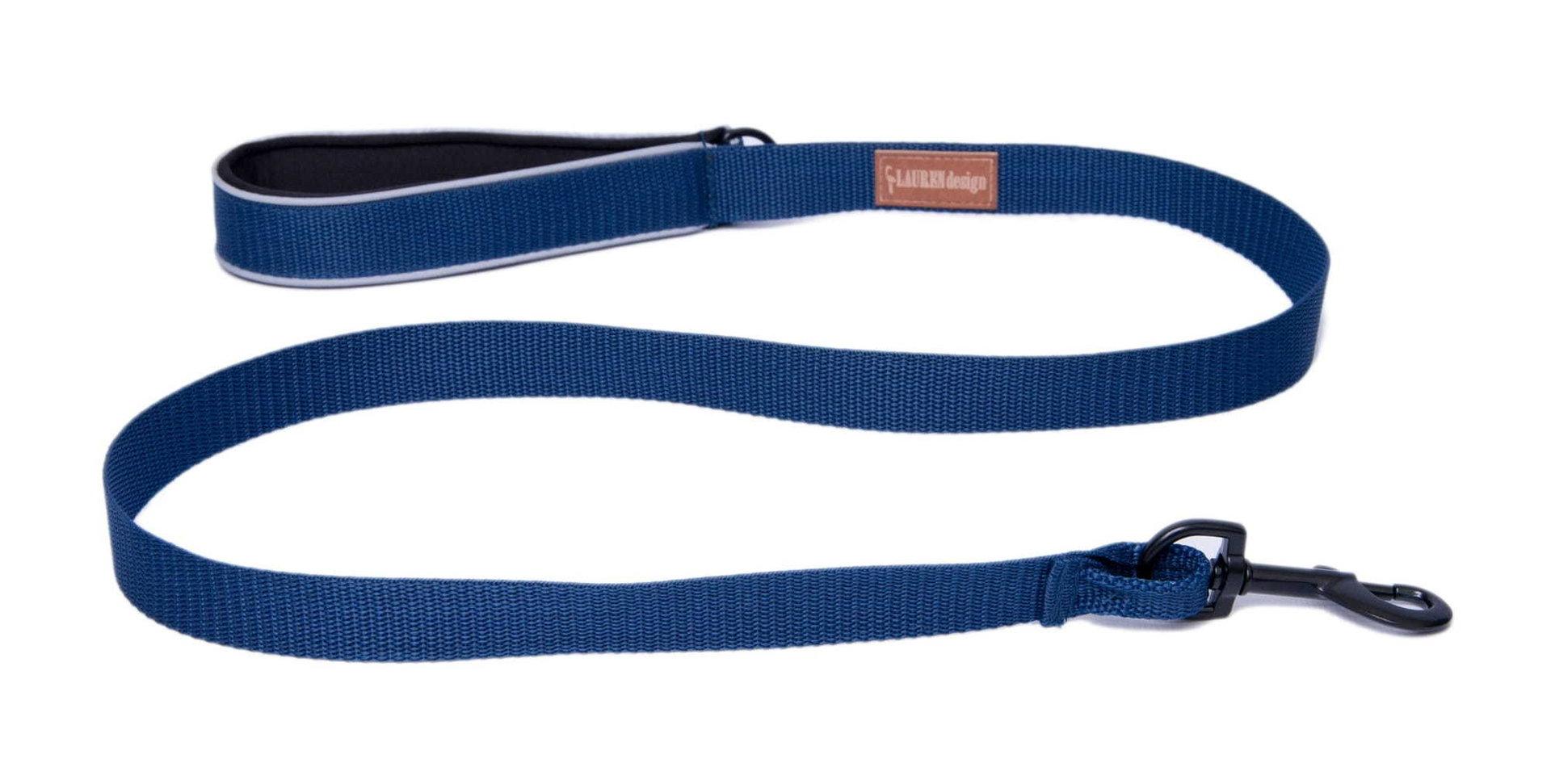 Leine 120cm, blau, 2cm und 2,5 cm