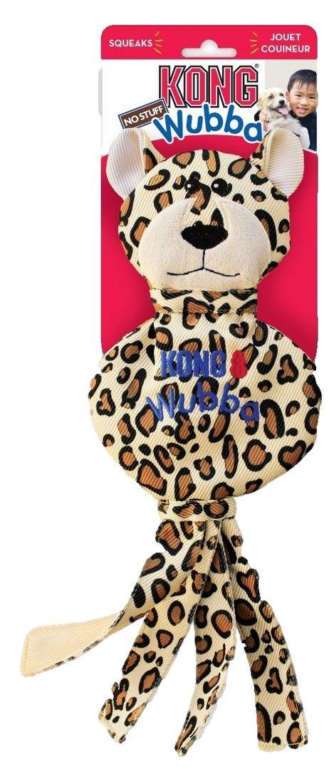 KONG Wubba No Stuff Cheetah L