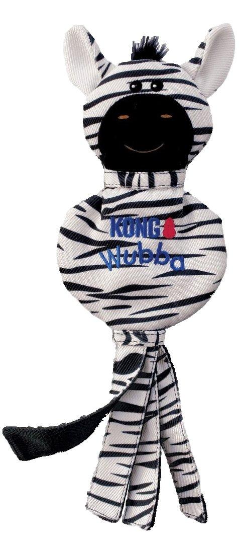 KONG Wubba No Stuff Zebra L