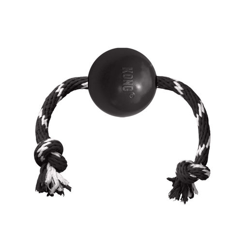KONG Extreme Ball w/Rope, L