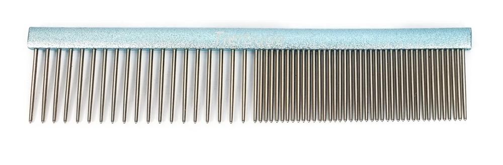 Frisierkamm, Tierbude mit grober und feiner Zahnung 11,5 cm