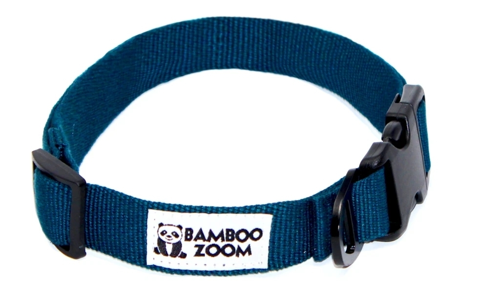 Bamboo Zoom Halsband Blau S bis L