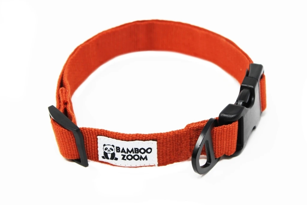 Bamboo Zoom Halsband Terracotta S bis L