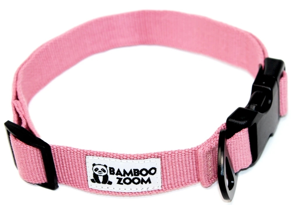 Bamboo Zoom Halsband Pink S bis L