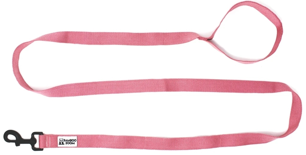 Bamboo Zoom Leine Pink S bis L