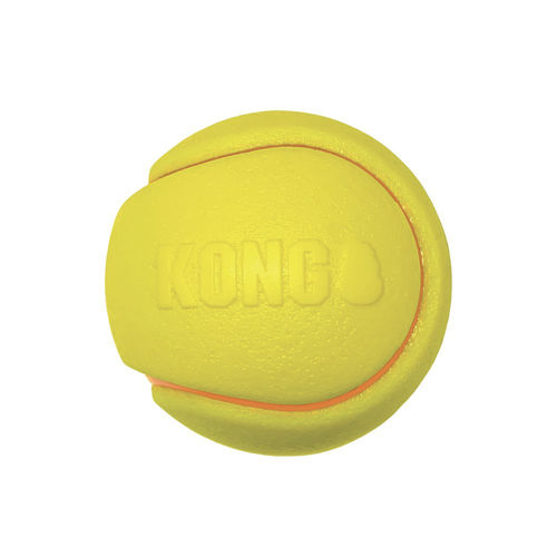 KONG Squeezz® Tennis Assorted Lg 2pk