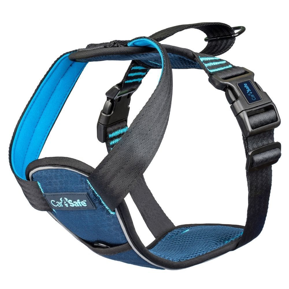 CarSafe Crash Tested Dog Harness Blue XS