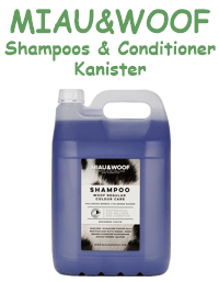 Shampoos, Conditioner Kanister